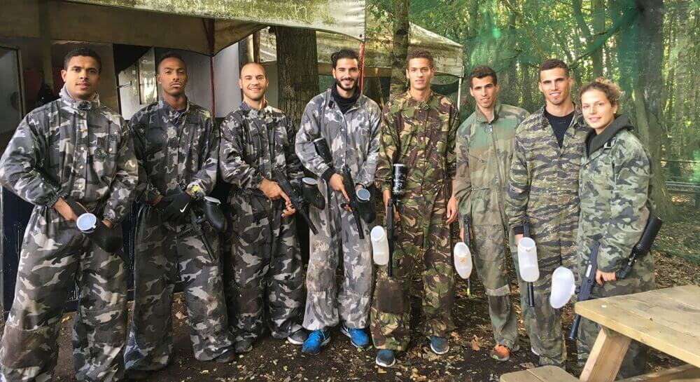 Paintball Bruxelles - Le plus grand terrain outdoor