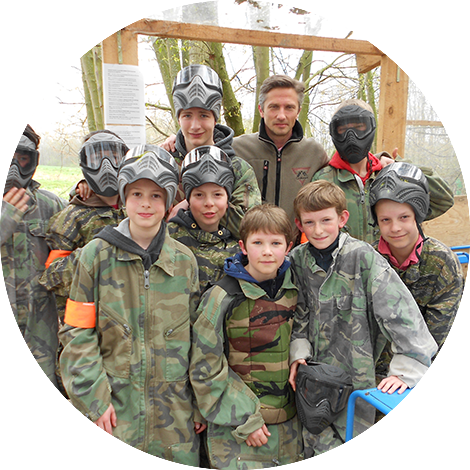 Paintball Adventure Games - offensief/defensief