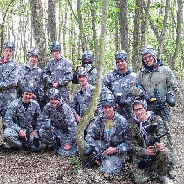 Paintball Bruxelles - Le lapin